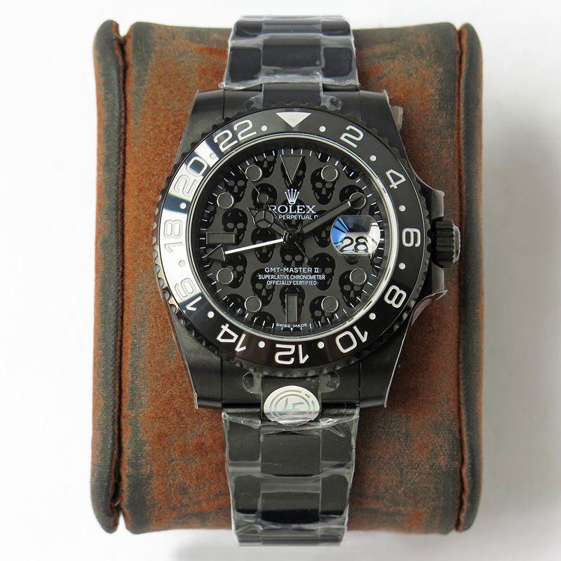 劳力士复刻手表格林尼治型REVENGE米尔高斯复仇系列限量款男士机械腕表