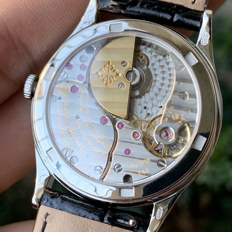 百达翡丽复刻手表5088系列雕花男士机械腕表