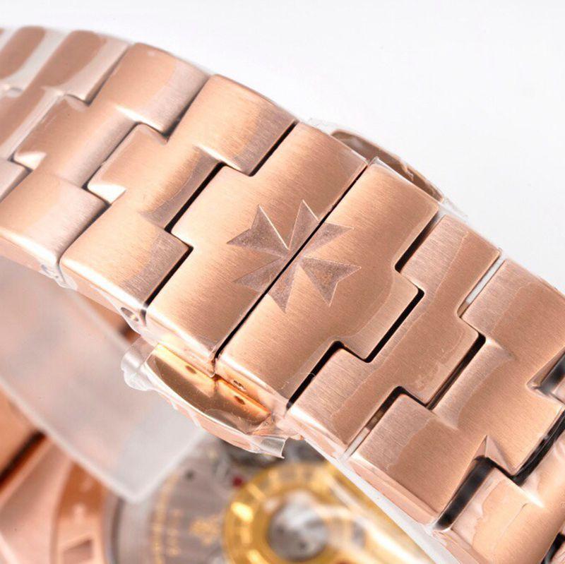 江诗丹顿顶级高仿手表纵横四海系列男士机械白面腕表