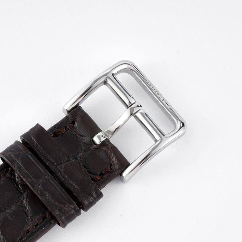 爱马仕顶级复刻手表HeureH大三针系列女士石英皮带休闲腕表