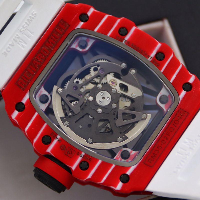 理查德米勒顶级精仿手表迪通拿系列密镶116599满天星皮带男士机械腕表