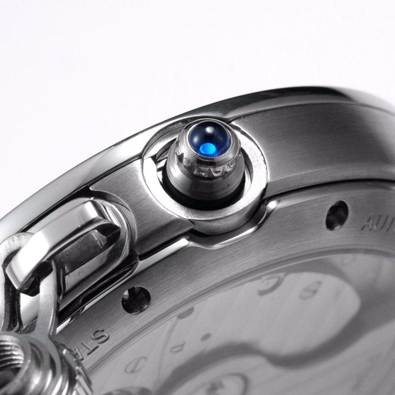 卡地亚顶级复刻手表Pasha系列女士全自动机械腕表白面