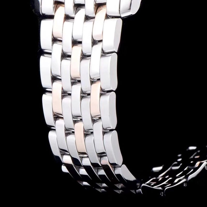 欧米茄精仿手表碟飞系列男士机械超薄手表间玫瑰金钢带