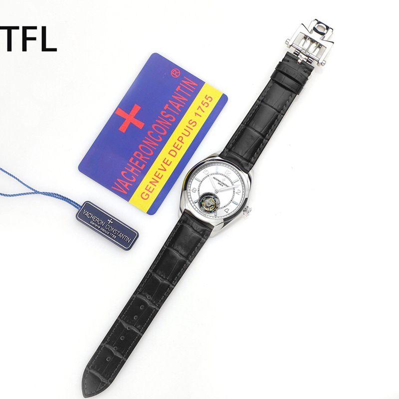 江诗丹顿顶级复刻手表伍陆之型系列全自动陀飞轮男士腕表