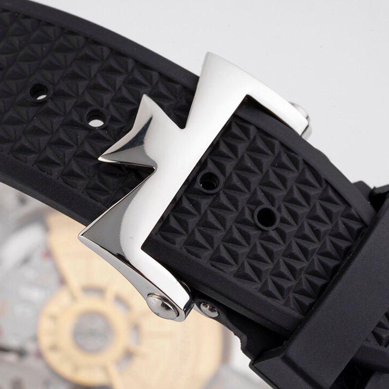 江诗丹顿顶级精仿手表纵横四海系列男士机械黑面腕表