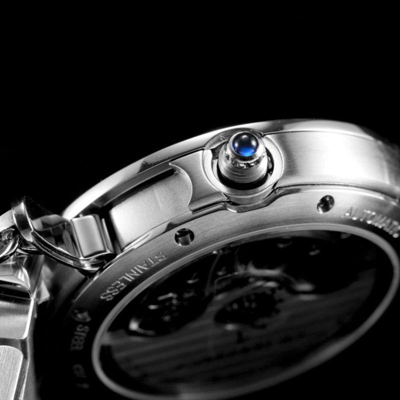 卡地亚顶级复刻手表Pasha系列女士全自动机械白面腕表