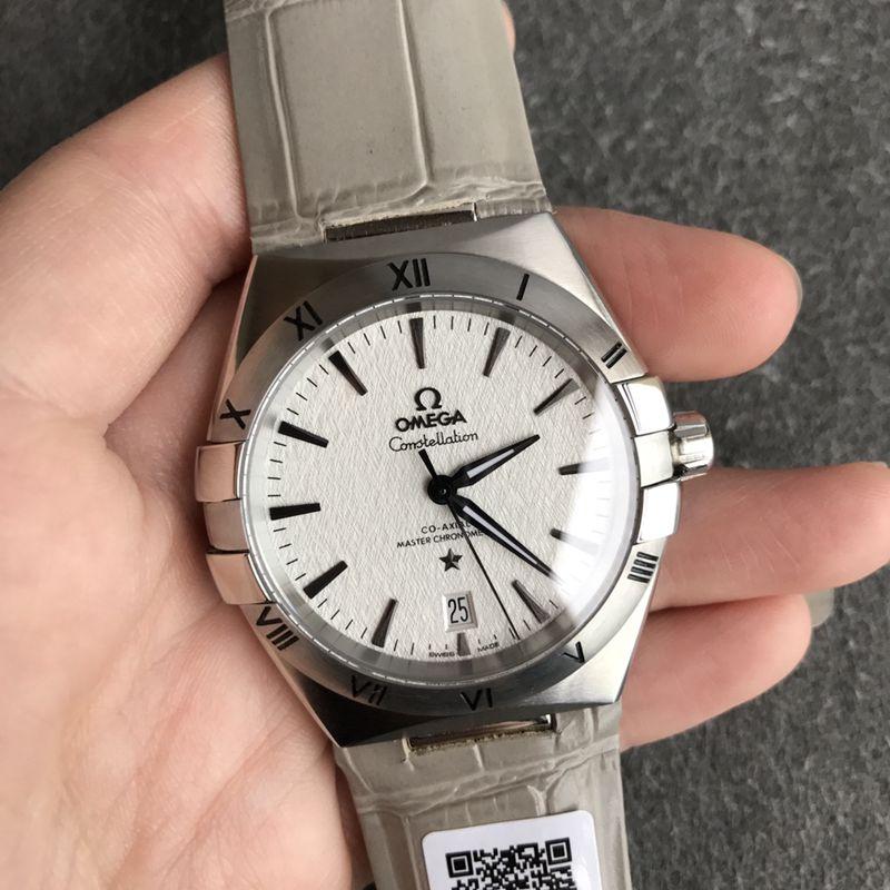 欧米茄顶级高仿手表第五代星座系列男士机械腕表