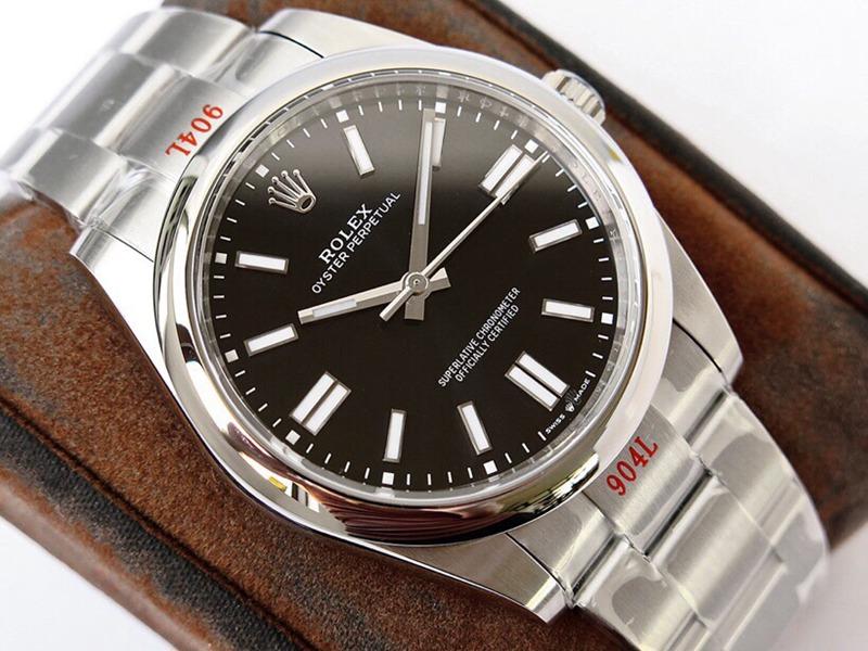GS劳力士顶级复刻手表蚝式恒动神奇宝贝41mm黑盘
