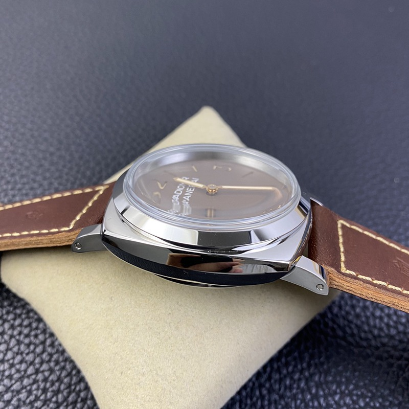SF沛纳海复刻pam00662手表p3000手上链机芯复古咖啡盘