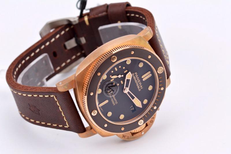 VS顶级复刻沛纳海青铜之王PAM968直径47MM男士硬汉手表