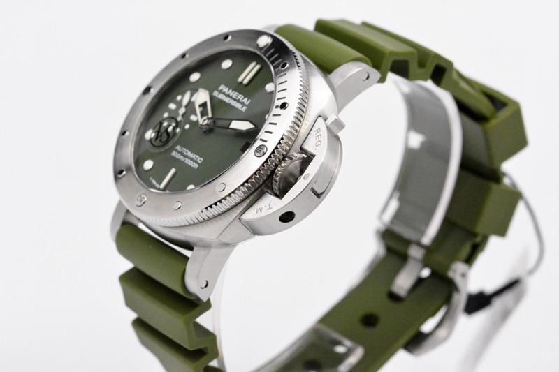 VS2020 沛纳海复刻新品PAM1055手表 42MM 绿海魂