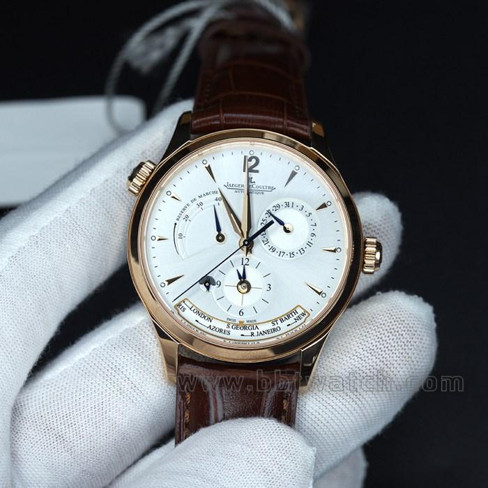 zf地理大师世界时间男士多功能自动机械手表