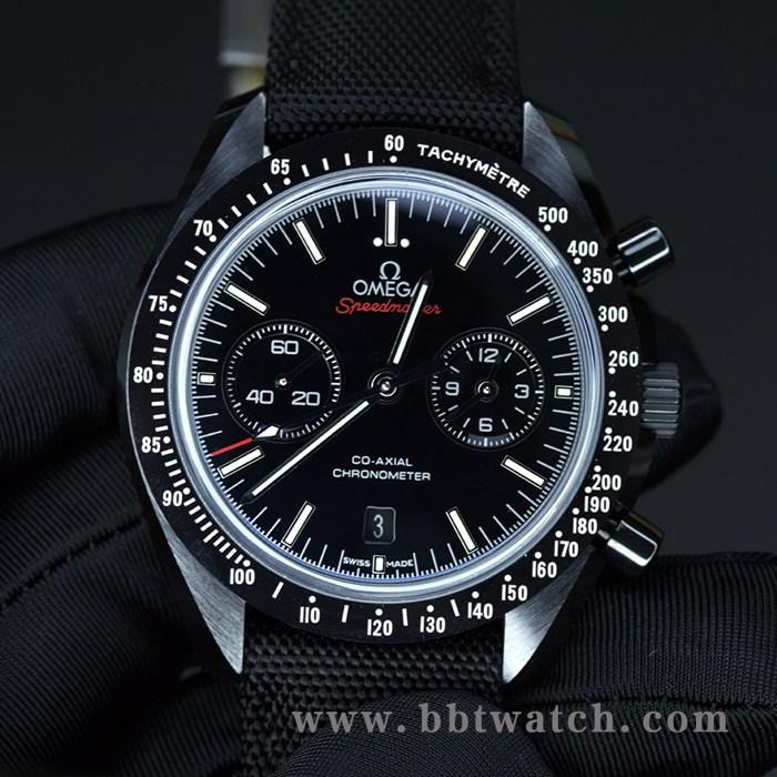 欧米茄超霸系列月之暗面陶瓷9300男士机械手表