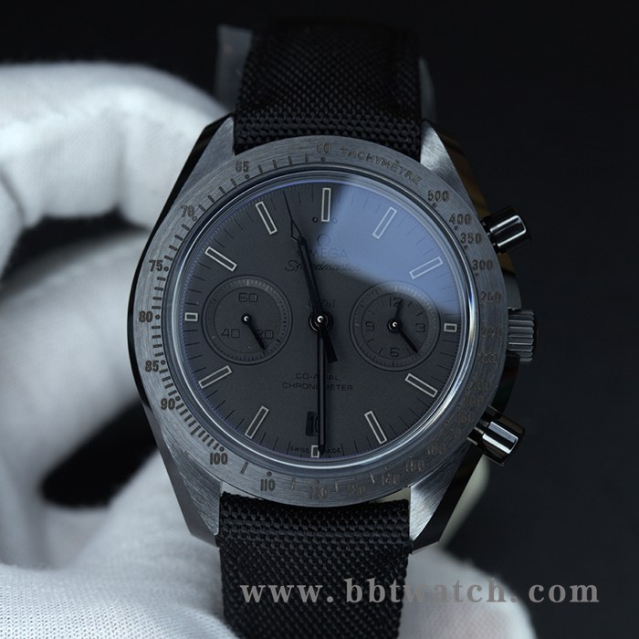 OM超霸月之暗面陶瓷材质9300计时机芯男士超酷腕表
