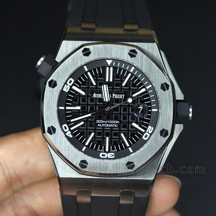 ZF皇家橡树15703顶级品质超强夜光男士手表